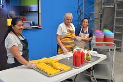 Corn Ready (amslerPIX) Tags: planetkids guatemala corn cob food meal yellow women cooks
