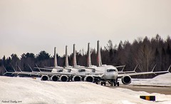 Air Canada Grounded Boeing 737 MAX 8 at Trois-Rivieres Airport (YRQ) | 16/03/2019 (tremblayfrederick98) Tags: quebec troisriviere parkedplanes planes yrq grounded737 737max8 max8 737max boeing737max boeing aircanada