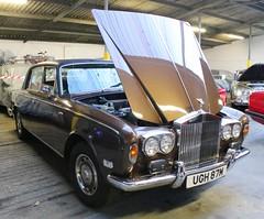 UGH 87M (Nivek.Old.Gold) Tags: 1973 rollsroyce silver shadow 6750cc aca