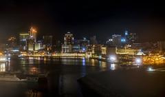 Night Port Louis / Ночной Порт Луи (dmilokt) Tags: пейзаж landscape море sea ночь порт night port город city dmilokt beginnerdigitalphotographychallengewinner
