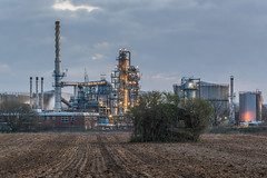 Soil & Oil (Rob Pitt) Tags: wirral photography sunrise eastham oil refinery canon 70200 f4 l sony a7rii