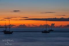 Ka nāpo'o 'ana o ka lā ~ Sunset in the Hawaiian Language (Freshairphotography by Janis Morrison) Tags: hawaii hawaiian maui mauihawaii ilovemaui lahaina afterglow sailboats silhouette slowshutterspeed warmth sunset