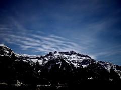 Nite (siew_wei) Tags: ilovephotography cloud mountain olympus travel switzerland interlaken night sky star