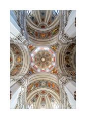 Salzburger Dom (Schilt Thomas) Tags: kirche dom decke salzburg gemälde