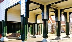 Seven Pillars (Hans Veuger) Tags: nederland thenetherlands amsterdam amsterdamnoord nieuwendam purmerplein beemsterstraat poort pillars nikon b700 coolpix nederlandvandaag twop
