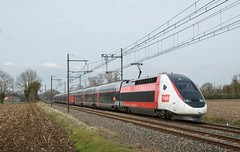 TGV Euro Duplex 3UA 4719 (SylvainBouard) Tags: train railway sncf lyria tgveuroduplex tgv3ua