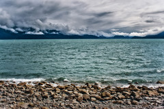 Resurrection Bay (Candy McDonald) Tags: alaska seward clouds mood mountains water landscapephotography landscapes waterscapes nikon nikonphotography photoshop nikcollection fineartphotography resurrectionbay