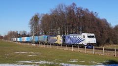 185 662 + 193 777 / Lokomotion - Vogl (lukasrothmann) Tags: bayern oberbayern heimat vogl train zug lok trains lokomotive traxx 185 193 lokomotion ekol 41857 dgs