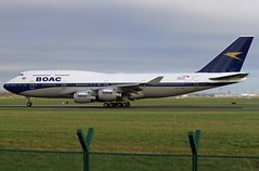 G-BYGC (G-650) Tags: gbygc boeing 747 747400 747436 winglets britishairways ba boac airline airport dub eidw dublin ireland aviation flight transport aerospace planespotting photo photography retro specialscheme anniversary takeoff depart repaint plane jet aircraft aeroplane airplane air fly jumbojet lhr londonheathrow