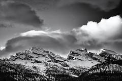 Weather Change... (Ody on the mount) Tags: ampezzo anlässe berge dolomiten em5ii fototour himmel italien mzuiko40150 omd olympus schneeschuhtour schneeschuhtour2019 südtirol urlaub wolken bw clouds monochrome mountains sw sky cortinad'ampezzo provinzbelluno it
