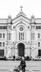 Duomo di Reggio Calabria (alessandro.ammendola) Tags: duomo cathedral reggiocalabria calabria italy city architecture religion square blackwhite black white biancoenero bianco nero sony sonya sonya6300 ilce6300