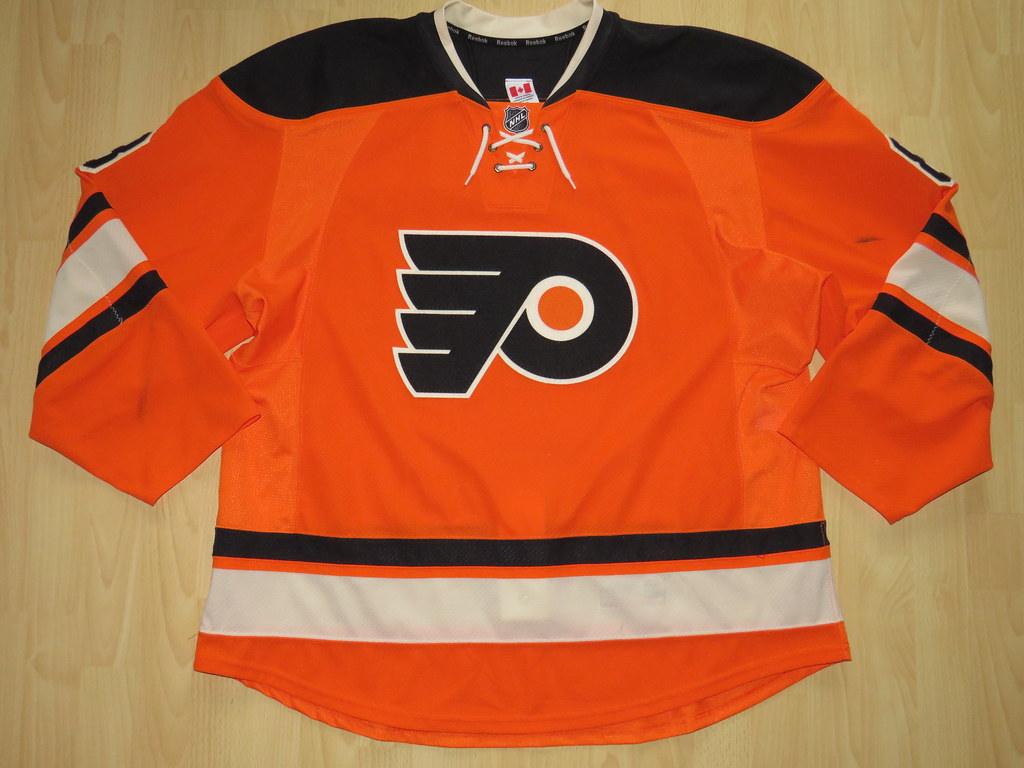 NHL Niklas Grossmann Philadelphia Flyers Ice Hockey Shirt Jersey