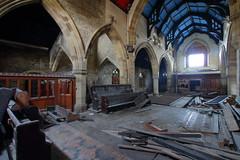 Church of Costa5 (Landie_Man) Tags: church costa urbex yorkshire coffee st andrews derp derpy religion abandoned disused closed shut retail survivor