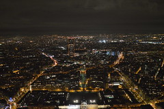 Paris at Night from the Eiffel Tower (CoasterMadMatt) Tags: latoureiffel2018 latoureiffel toureiffel tour eiffel theeiffeltower2018 theeiffeltower eiffeltower tower vue pointdevue point viewpoint views view vuedepuislatoureiffel viewfromtheeiffeltower paris2018 paris ville city capitale capitalcity capitaledelafrance capitalcityoffrance villesfrançaises frenchcities îledefrance france f december2018 winter2018 december winter 2018 coastermadmattphotography coastermadmatt photos photographs photography nikond3200