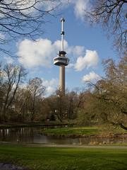 Rotterdam - Euromast (Grotevriendelijkereus) Tags: rotterdam zuid holland netherlands nederland city town park garden tuin gebouw building architecture architectuur tower toren euromast mast huig maaskant