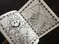 Super Mario Bros Paint n Marker Book 1989 Nintendo_06 (gamescanner) Tags: nintendo mario bros coloring book golden kids activity video games 1989 isbn 030701598x 03350015984