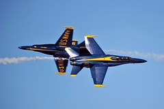 THE BLUES (Dafydd RJ Phillips) Tags: us usa naval aviation navy f18 hornet air facility el centro california show display team 2019 fast jet