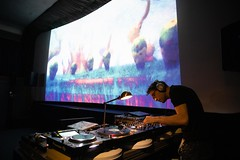 Plattenfilme: DJ Bombsiteboy, Bild: ©Sabine Franzl