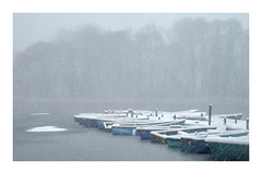 Ormesby Little Broad (Steven Docwra) Tags: beastfromtheeast trinitybroad norfolkbroad nationalpark boat frozen weather snow landscape blizzard norfolk eastanglia