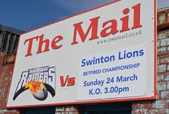 Mail Shot (Feversham Media) Tags: barrowraidersrlfc swintonlionsrlfc cravenpark barrow rugbyleague cumbria rugbyleaguegrounds barrowinfurness betfredchampionship