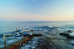 Rust and sea (Eziah photography) Tags: sea serenity sky sonya65 mediterranean méditeranée summer sunset light daylight outside landscape france mer été travel voyage menton cap martin wave waves pink