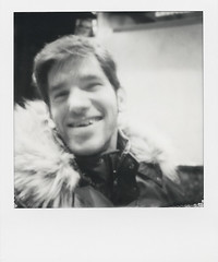 Telmo (Josu Sein) Tags: portrait retrato friendship amistad friend amigo strength fuerza queer polaroid monochrome monocromo analog analógico