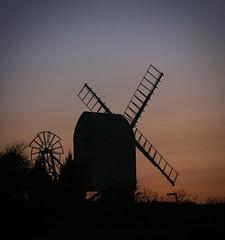 Great Chishill Windmill (scuba_dooba) Tags: great chishill windmill post cambridgeshire uk england sunset twilight