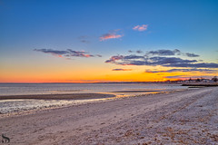 1 seascape Gulf beach (Singing With Light) Tags: 2016 2017 26th alpha6500 ct duckpond february gulfbeach milford mirrorless singingwithlight a6500 beach downtown photography singingwithlightphotography sony sunrise winter