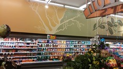 garden and flowers bring… (Retail Retell) Tags: batesville ms kroger panola county retail 2012 bountiful décor formerly wannabe neon former food world