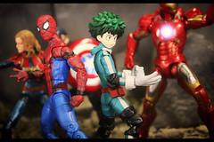 New Avenger (resistance827) Tags: deku myheroacademia bhna mha anime figma izukumidoriya actionfigure avengers action figure