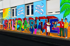 Mur de la solidarité (Edgard.V) Tags: streetart arte urbano murals urban art callejero