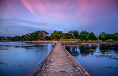 Hometown sunset (aurlien.leroch) Tags: france bretagne morbihan vannes sunset nikon landscape longexposure clouds