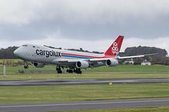 LX-VCB B747-8R7F Cargolux Prestwick 04.03.19 (Robert Banks 1) Tags: lxvcb boeing b747 b748 8r7f cargolux prestwick egpk pik clx