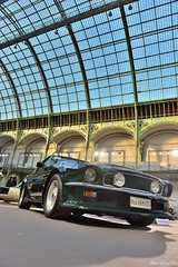 1988 Aston Martin V8 Vantage volante X pack (pontfire) Tags: décapotable convertible cabriolet 1988 aston martin v8 vantage volante x pack green verte david brown voiture voitures cars auto autos automobile automobili automobiles coche coches carro carros wagen pontfire bil αυτοκίνητο 車 автомобиль classique ancienne vieille collection de classic old antique vieux bonhams luxe luxury exception tadek marek les grandes marques du monde au grand palais 2018 british anglaise england car oldtimer automotive anglais english britain gb véhicule vintage am prestige sport sports dexception