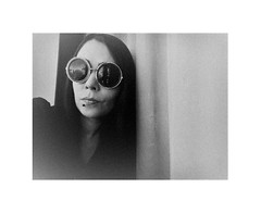 some shades of grey (haidem3) Tags: girl glasses sunglasses stylish bw blackandwhite people portrait autoportrait