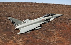 EUROFIGHTER (Dafydd RJ Phillips) Tags: typhoon eurofighter death valley low level military jet fighter