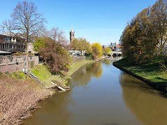 Trip to Roermond (Las Cuentas) Tags: landscape landschaft landscapes europa europe holland nederland brücke fluss limburg niederlande motiv