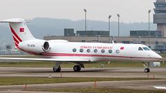 Gulfstream Aerospace G-IV TC-ATA Turkey - Government (William Musculus) Tags: plane spotting aviation airplane william musculus airport zurich kloten zrhlszhzurichklotenairportspotting aerospace tcata turkey government gulfstream giv iv g450 turkish