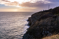 Tilly Whim - Swanage, Dorset (BeerAndLoathing) Tags: 2018 december swanage englandtrip england winter uktrip cliffs canon purbeck dorset 77d trip waves lighthouse sea uk winter2018