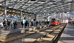 Daggie DeHaagh (Peter ( phonepics only) Eijkman) Tags: denhaag sgravenhage htm gtl tram transport trams tramtracks tramhaltes tramstop stations rail rails strassenbahn streetcars nederland netherlands nederlandse zuidholland holland