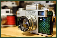 Kiev 4 (The real Brooxsie) Tags: fujifilm fuji fujifilmx100 x100 oldcamera classiccamera vintagecamera vintagecameras retrophotographic
