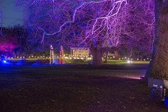 Night time event at Audley End (jimj0will) Tags: night lights trees audleyend statelyhome englishheritage nifty fifty 50 mm