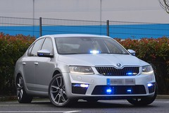 Unmarked Traffic Car (S11 AUN) Tags: cleveland police skoda octavia vrs tdi 4x4 anpr unmarked traffic car rpu roads policing unit 999 emergency vehicle