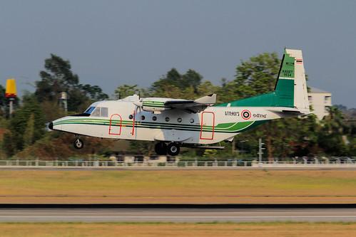 Rainmaking Aircraft of Thailand