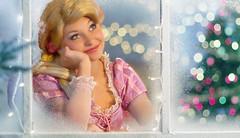 Almost There... (Disney Digitally) Tags: christmas christmaseve disney disneyland california anaheim orangecounty rapunzel disneyprincess blonde tangled snow winter digitalimaging photoshop canon