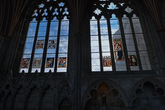 DSC_4501_2_3_4_5_tonemapped (IMX2019) Tags: art light cathedral old interior masonry god religion pulpit nave organ photo picture decoration shadows nikon d500 d700 35mm 1755mm zeiss nikkor exeter candle