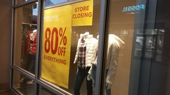 Store Closing – 80% Off Everything (Retail Retell) Tags: aéropostale aero reopening closing store closure liquidation southaven ms towne center desoto county retail tanger outlets outlet mall memphis