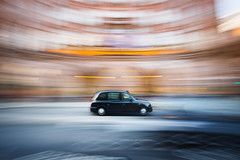 Black cab passing the Midland Hotel (bitrot) Tags: blackcab blur cab car city citycentre hotel manchester midlandhotel motionblur pan panshot panning panningshot taxi transport lightroom canoneos5dmarkiii ef1740mmf4lusm 17mm f13 05sec iso50