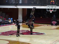 Zuzu Acrobats - Really Impressive! (dougmartin571) Tags: roanokecollege lynchburghornets roanokemaroons maroonsathletics basketball americasgottalent agt zuzuacrobats maroonathletics roanokecollegeathletics