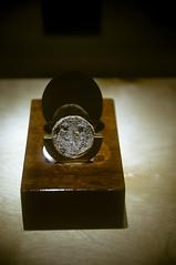 Ancient Coin (Ian David Blüm) Tags: ancient coin money display archeology israel